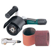 Dynabrade Mini-Dynisher Finishing Tool Versatility Kit, .4HP, 3,200 RPM, Rear Exhaust
