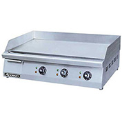 """30""""W Griddle, Heavy Duty, Electric, 3208/240V"""