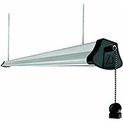 4' LED Shop Light, Silver