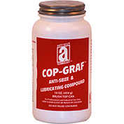 COP-GRAF™ Copper, Graphite Anti-Seize 1800°F, 1Lb. Brush Top 12/Case - Pkg Qty 12