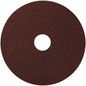"17"" EcoPrep ""EPP"" Chemical Free Stripping Pad, Maroon, 10/Pk"