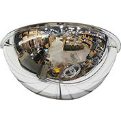 "Half Dome Mirror, 26"" Diameter - Pkg Qty 2"