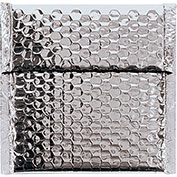 """7""""x6-3/4"""" Silver Glamour Bubble Mailer, 72 Pack"""