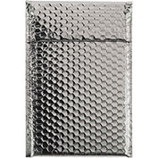 """7-1/2""""x11"""" Silver Glamour Bubble Mailer, 72 Pack"""