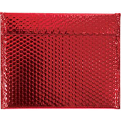 "13-3/4""x11"" Red Glamour Bubble Mailer, 48 Pack"