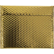 "13-3/4""x11"" Gold Glamour Bubble Mailer, 48 Pack"