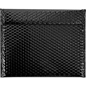 "13-3/4"" x 11"" Black Glamour Bubble Mailer 48 Pack"