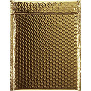 "9""x11-1/2"" Gold Glamour Bubble Mailer, 100 Pack"