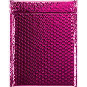 "9""x11-1/2"" Pink Glamour Bubble Mailer, 100 Pack"