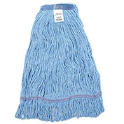 Small Looped Mop Head, Narrow Band, Blue