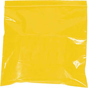 "2 Mil Reclosable Bags, 4""x6"", Yellow, 1000 Pack"