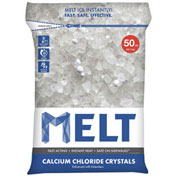 Snow Joe MELT50CC MELT 50 Lb. Bag Calcium Chloride Crystals Ice Melter