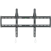 Super Low Profile Wall Mount, Steel, Black