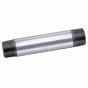 "1/2"" x 6"" Galvanized Steel Pipe Nipple, Lead Free, 150 PSI"