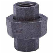 "2"" Black Malleable Union, Lead Free, 150 PSI"