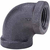 "1"" 90 Degree Elbow, Black Malleable, 150 PSI, Lead Free"