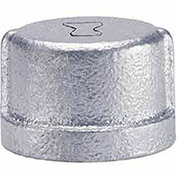 "Anvil 1-1/4"" Galvanized Malleable Cap"