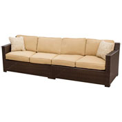 Metropolitan 2-Piece Outdoor Loveseat Lounge Set
