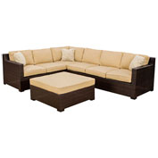 Metropolitan 5-Piece Outdoor Lounge Set