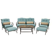 Oceana 6-Piece Outdoor Patio Set