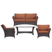 Strathmere Allure 4-Piece Outdoor Lounging Set