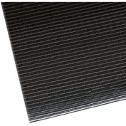 "NoTrax Razorback Safety-Anti-Fatigue Floor Mat, 3' x 4', 1/2"" Thick, Black"