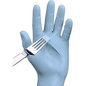 Disposable Nitrile Gloves, Powder-Free, Large