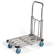 Aluminum Fold-Away Truck, Telescoping Deck
