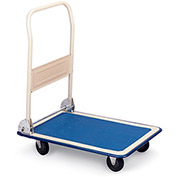 "RELIUS SOLUTIONS Folding Platform Trucks with Rubber Casters - 35""Lx23""W Deck"