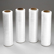 "70 Gauge Stretch Wrap Film 18"" x 1500', Clear, For Hand Dispenser, 144 Pack"