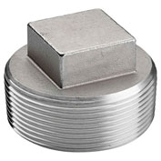 "KINGDOM 2"" 304 Stainless Steel Plug, MNPT"