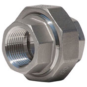 "KINGDOM 3/4"" 304 Stainless Steel Union, FNPT"