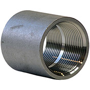 "2"" Coupling, 304 Stainless Steel, FNPT, Class 150, 300 PSI"
