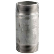 """1"""" x 5"""" 304 Stainless Steel Pipe Nipple, 16168 PSI, Sch. 40"""