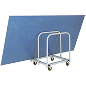 "MECO PM1 Steel Deck Panel Mover Rubber Wheels, 31x28x34"", 900 Lb. Cap."