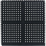 "Comfort Flow HD Modular Anti-Fatigue Tile, Middle, Black, 36"" x 36"""