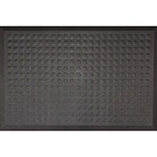 "Complete Comfort II Anti-Fatigue Mat, 1/2"" Thick, Black, 2' x 3'"