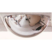 "360-Degree Full Dome T-Bar Mirror, 24"" Diameter, 2' x 2' Drop-In Panel"