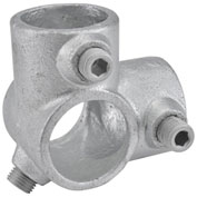 "1-1/4"" Size 90 Degree Two Socket Tee Pipe Fitting"