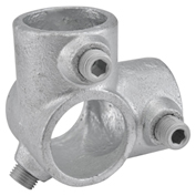 "1-1/2"" Size 90 Degree Two Socket Tee Pipe Fitting"