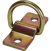 """FallTech® 7414 Forged D-ring and Bolt-on Plate, 2"""" x 4-1/2"""" Plate with 1/2"""" Holes"""