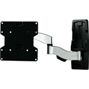 "Invisible Articulating Slim Wall Mount, for 22""-45"" Monitors"