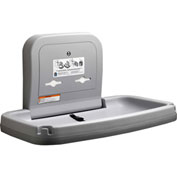 Koala Kare Horizontal Baby Changing Table W/ Stainless Steel, Gray