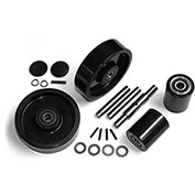 GPS Complete Wheel Kit for Manual Pallet Jack, Fits Crown, Model # PTH50, Newer PTH50