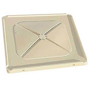 Macro Plastics MacroBin® Bulk Container Lid, Ivory, For 24-A-S & 16-A-S
