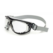 Uvex® Carbonvision™ Safety Goggles, Black & Gray Frame, Clear Lens