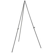 Portable Easel Stand, Black, Aluminum