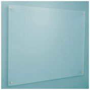 Dry Erase Board - Frosted Glass, 48 x 36