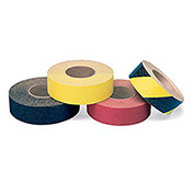 "Self-Adhesive Anti-Slip Floor Tape, 1""Wx60'L Roll, Black"