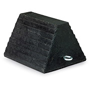 """Recycled Rubber Chock - 9x7-1/2x5-3/4"""""""